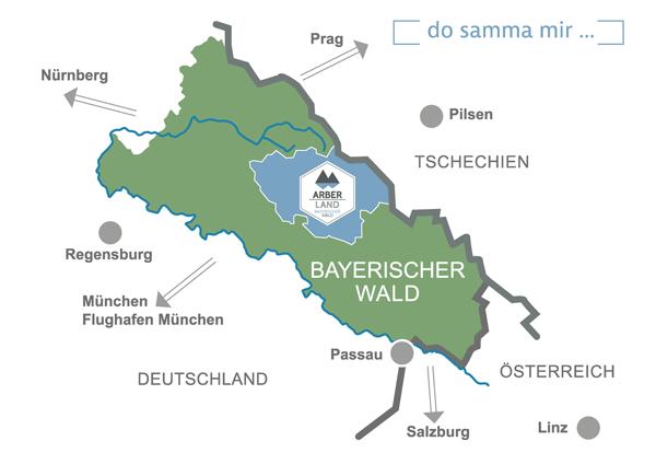 Bayerischer Wald Karte Kostenlos.Urlaub Bayerischer Wald Ferien In Bayern Wandern Wellness Und