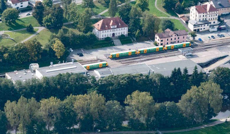 Schnitzmühle Viechtach bahnhof viechtach mit haltestelle schnitzmühle