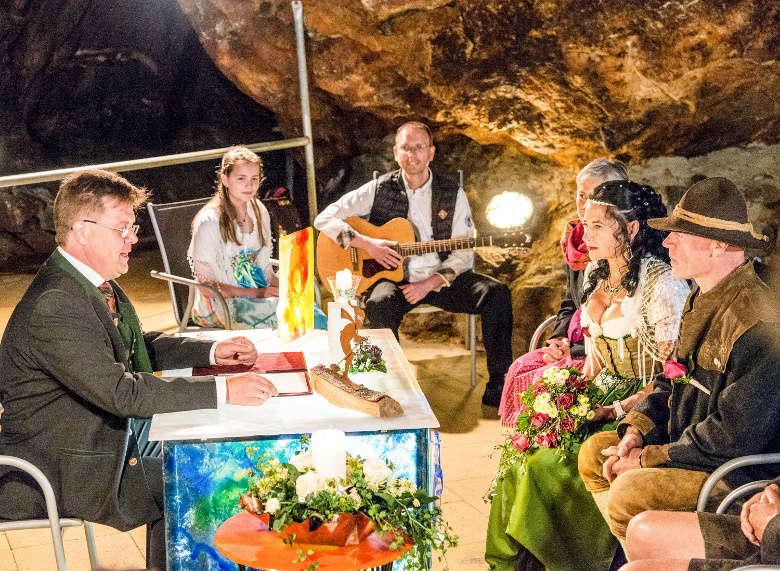 Gluckauf Heiraten Im Silberbergwerk Bodenmais