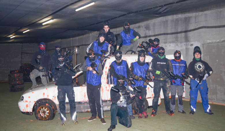 Paintball Mannschaft