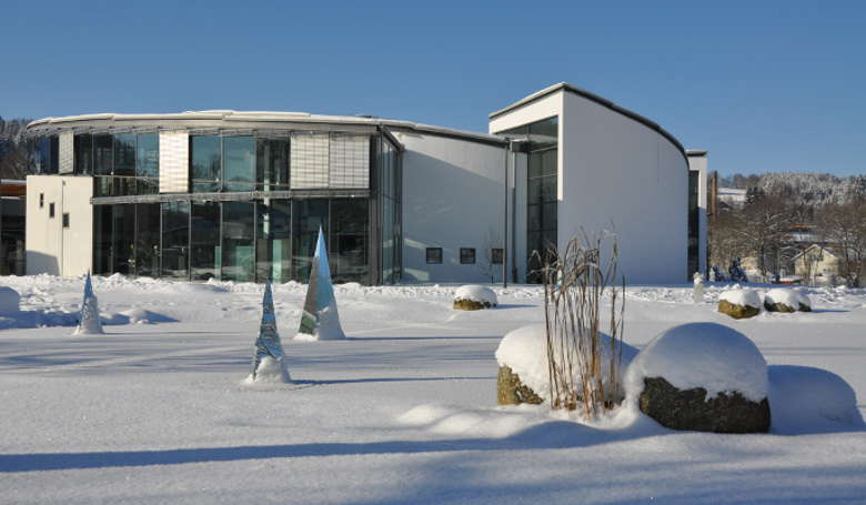 Glasmuseum Frauenau im Winter
